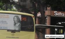 Ônibus 545 alcântara em ponto final na Candelária, perto do banco SAFRA