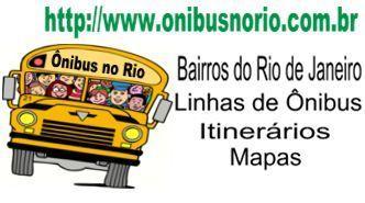 Informações sobre transporte público no Rio de Janeiro
