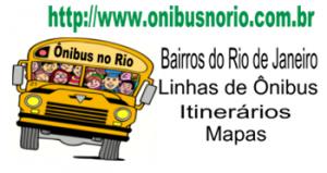 Ônibus no rio, linhas e itinerários.