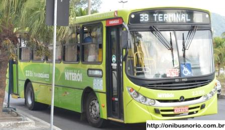 linha 33 terminal onibus em niterói