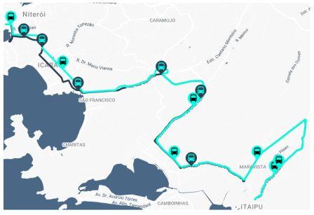 linha 38A itinerário